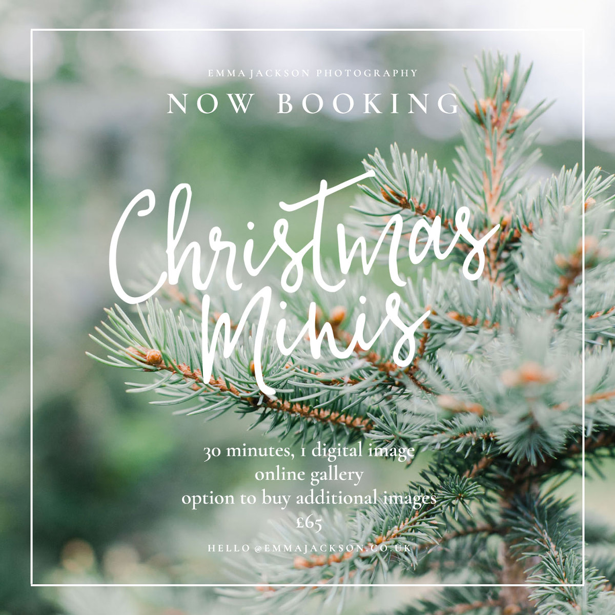 Cotswold Christmas family mini sessions