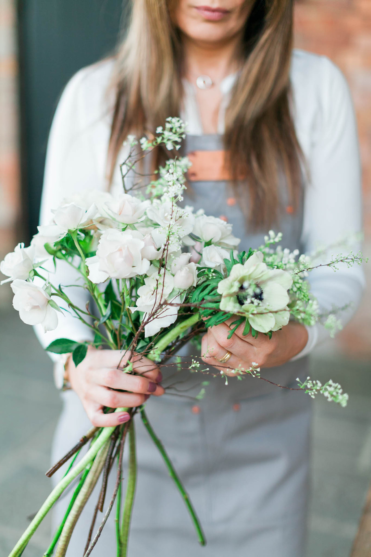 Branding photo for female Cotswold florist by Emma Jackson Photography
