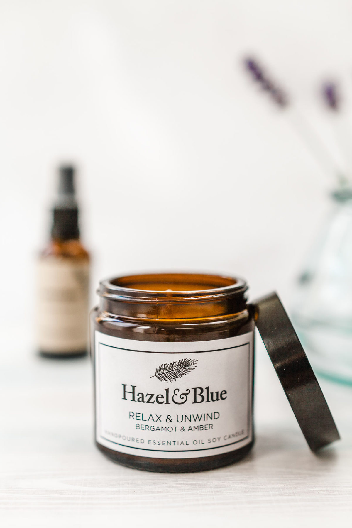 Product photography showing eco friendly skincare