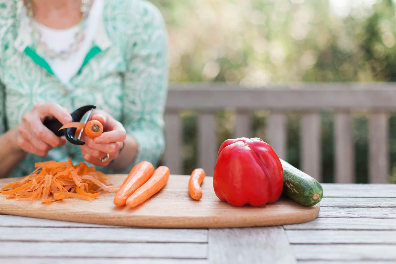 Branding shoot for female nutritionist